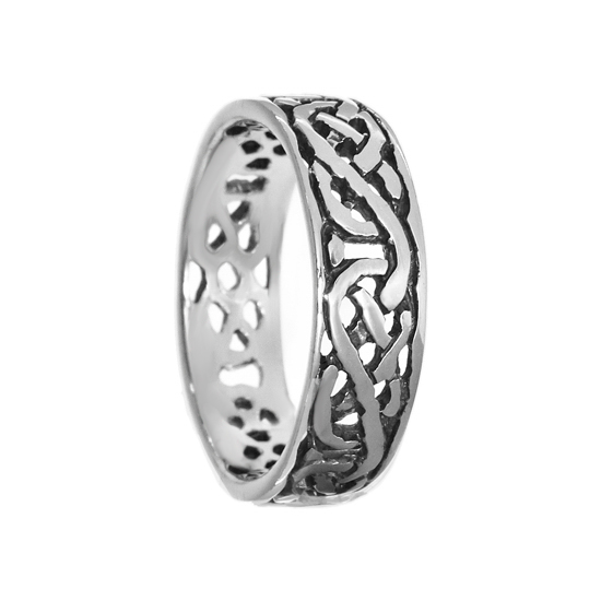 Celtic Sterling Silver Ring